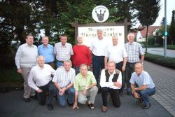 Mitglieder des Kegelclubs Bürgerjungs